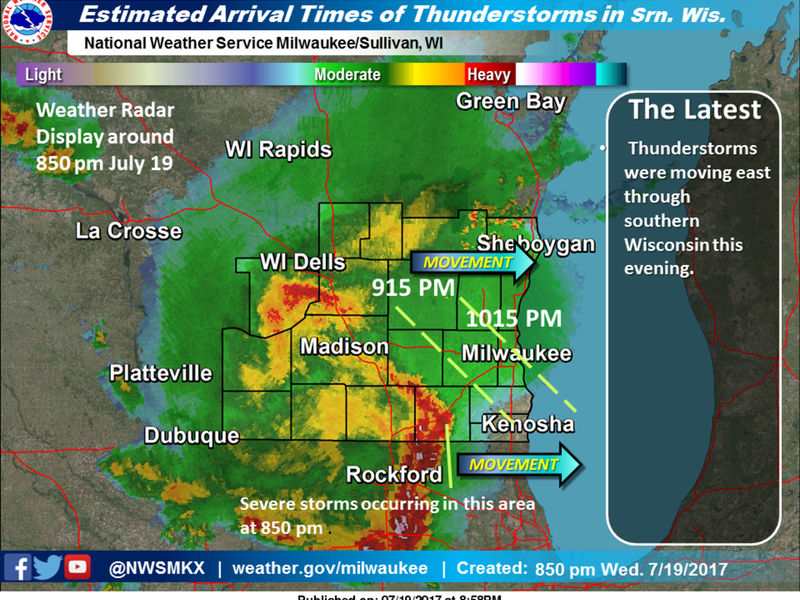 Severe Thunderstorm Watch Until Midnight Tonight Greendale Wi Patch