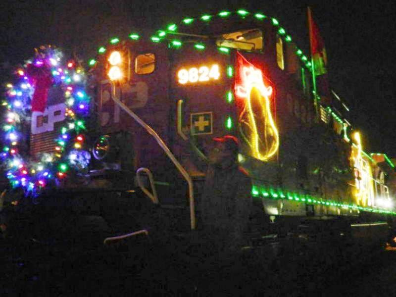 2018 canadian pacific holiday train wisconsin stops