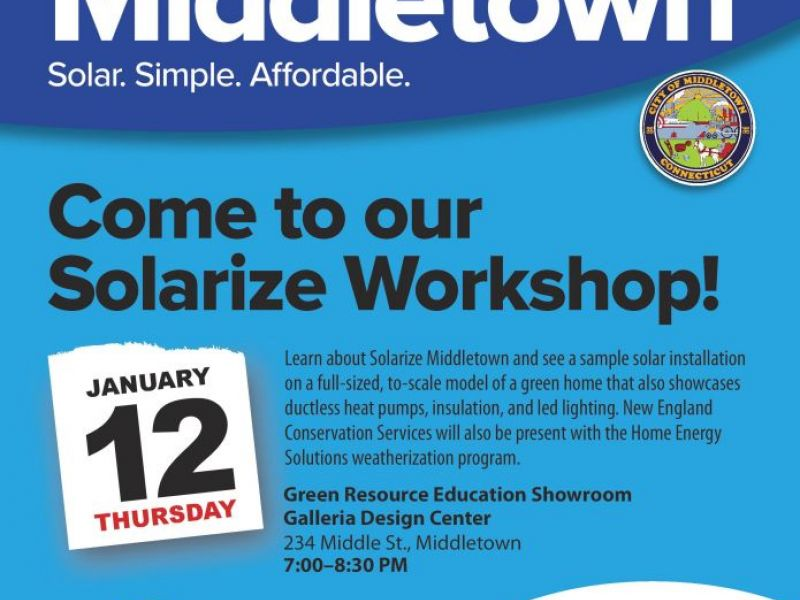 Solarize Workshop Features Indoor To Scale Solar Installation