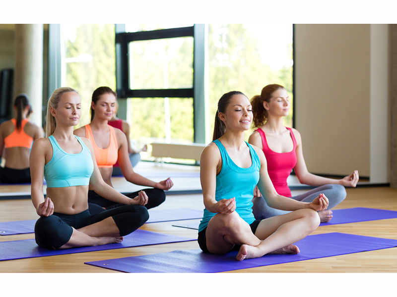 Teen Girls Stress And Anxiety Group Yoga Mindfulness More Starting