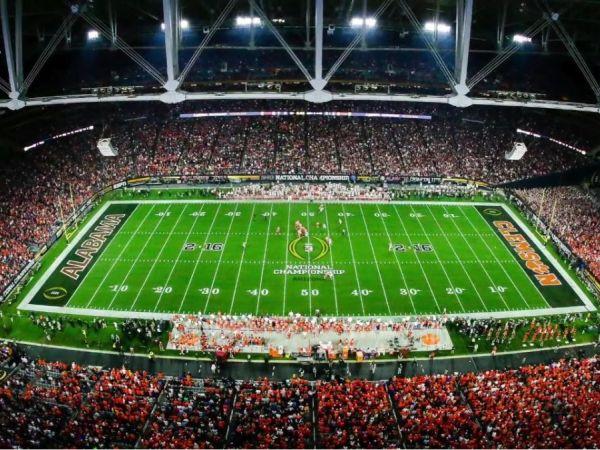 next week football schedule college national championship football