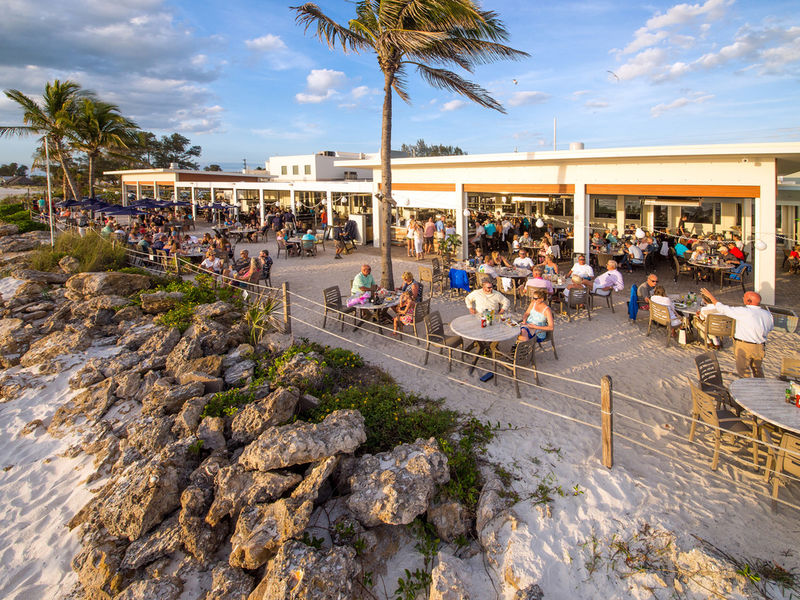 Beach house restaurant unveils renovations new front deck 0