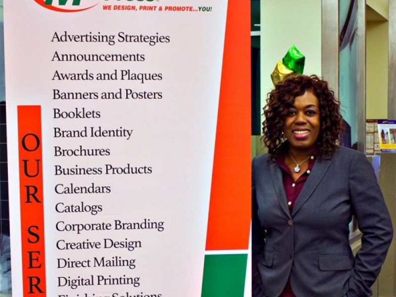 business owner juanita glenn celebrates grand opening of new