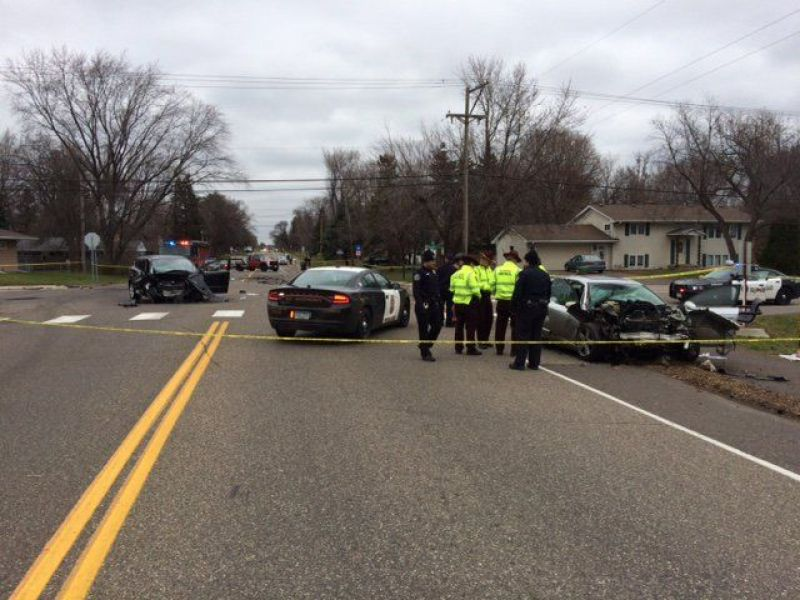 Audi Traveled 100 Mph Before Head On Collision In Roseville Police Roseville Mn Patch
