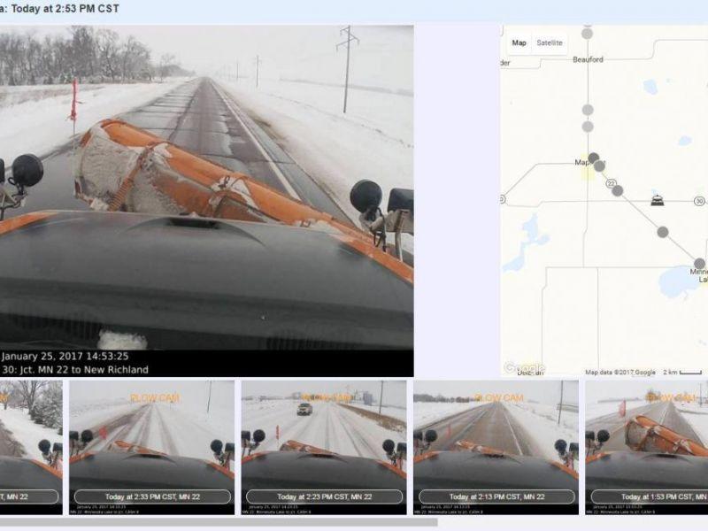Winter Up Close: MnDOT Unveils New Snowplow Cameras | Saint Paul ...