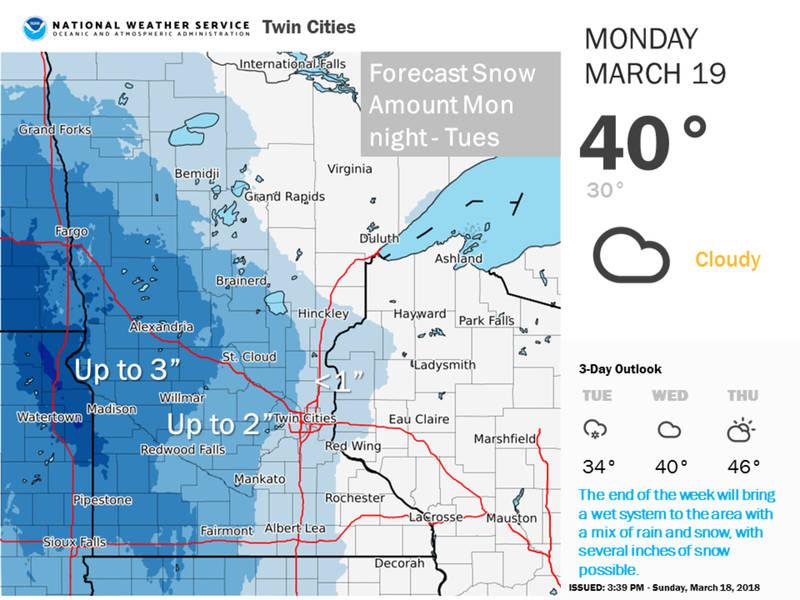Minnesota Weather Winter Returns This Week Southwest Minneapolis