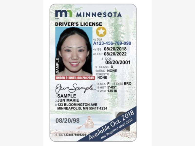 new minnesota driver's license design unveiled: photos | mendota