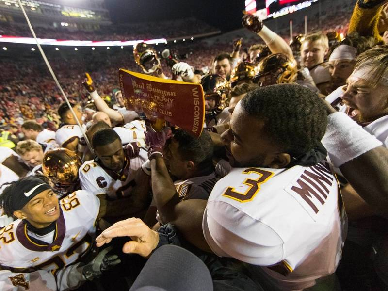 Gophers Make History In Dominate Win Over Badgers | Patch