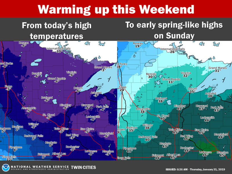 minnesota weather  this weekend will feel like summer