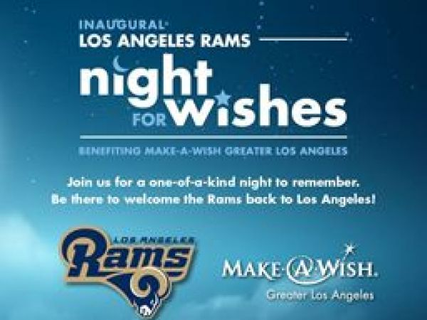 Making Wishes Come True: LA Rams Night for Wishes Event ...