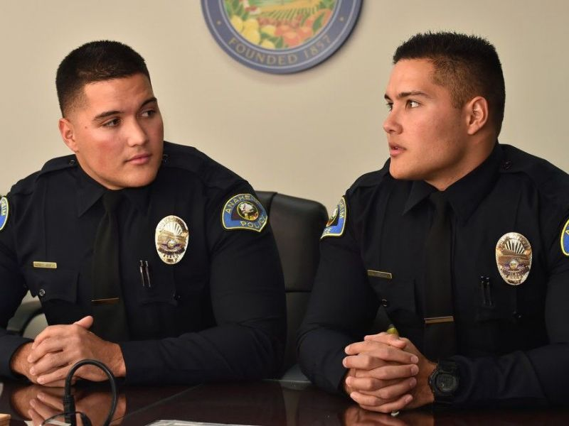 Anaheim police seeing double twins making mark behind the badge in anaheim police seeing double twins making mark behind the badge in orange county publicscrutiny Image collections