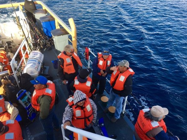 25 passengers, crew rescued from vessel near San Clemente Island