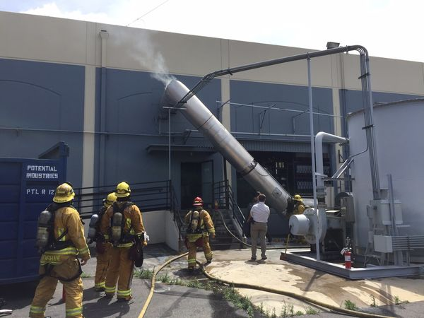 Garden Grove Commercial Building Fire Started With Motor