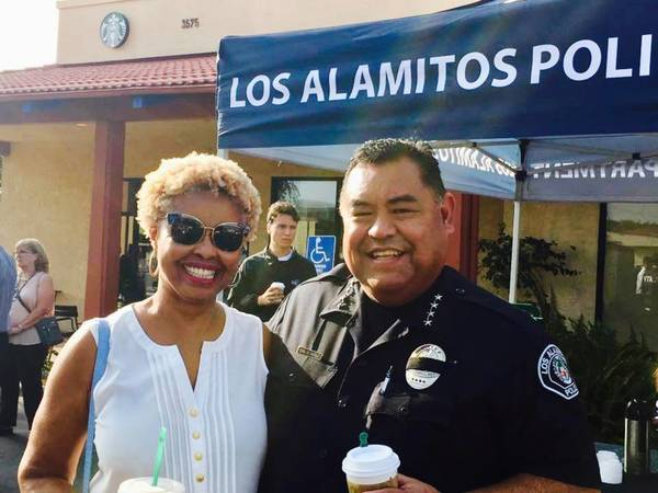 Los Alamitos Attends Coffee With Cops
