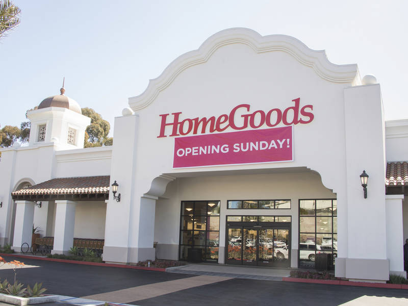 HomeGoods Arrives In San Clemente