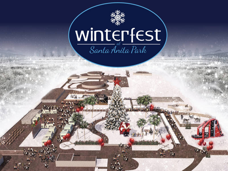 Winterfest Returns To Santa Anita Park 2018 Arcadia Ca