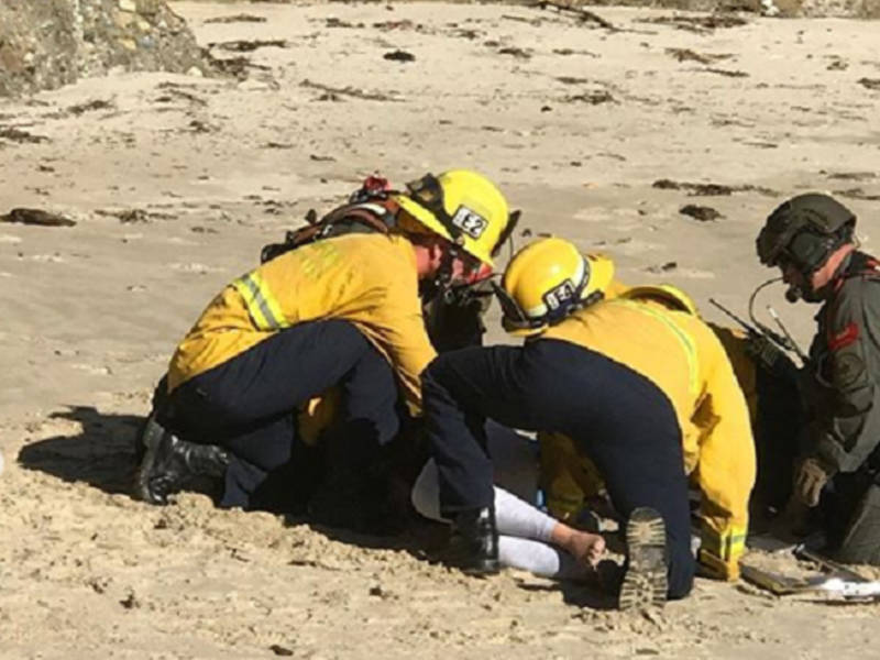 Woman Injured In Lighthouse Cove Cliff Jump