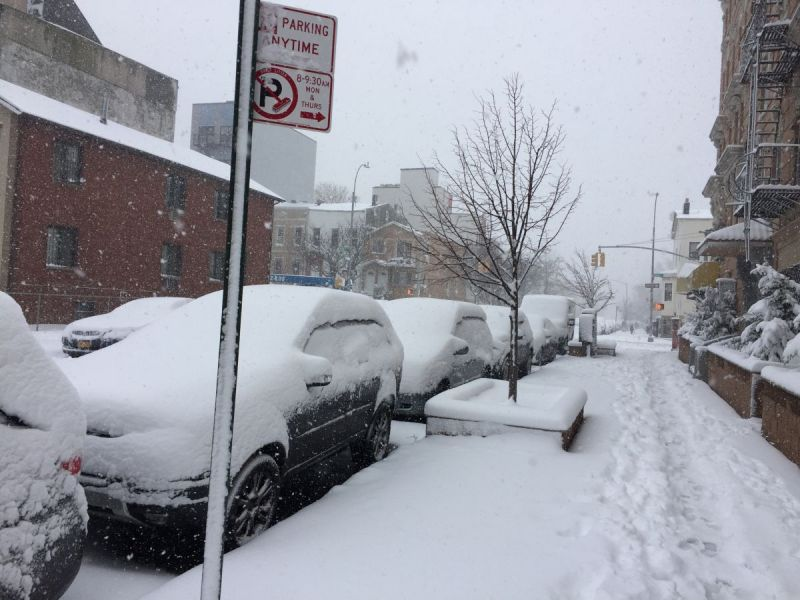 Brooklyn Snow Storm Strong Winds Alert Issued Brooklyn