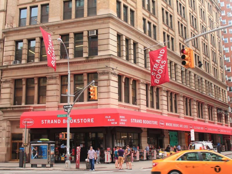 williamsburg to get strand bookstore pop up williamsburg ny patch. Black Bedroom Furniture Sets. Home Design Ideas