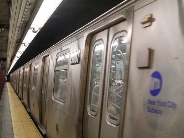 Woman taken into custody after walking subway tracks between 2 Brooklyn stations