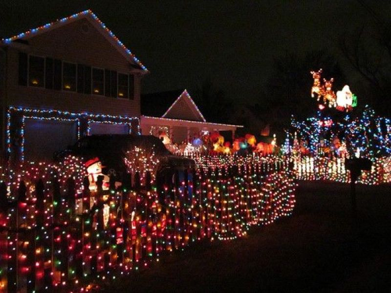 tacky christmas lights where are they in burke - Tacky Christmas