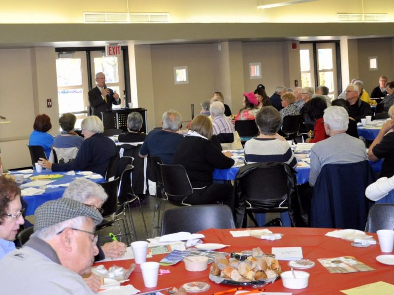 Village Of Orland Park Mayor Dan McLaughlin To Host Spring Senior Coffee On March 16