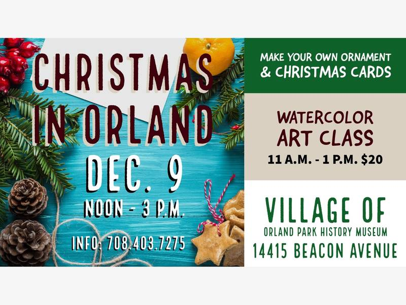 Orland Park Hosts \'Christmas in Orland\' Holiday Craft Event | Orland ...