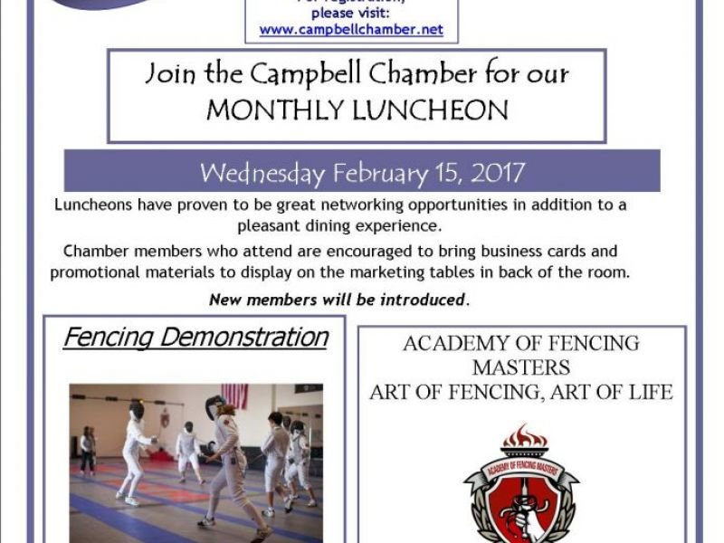 Monthly Chamber Luncheon | Campbell, CA Patch