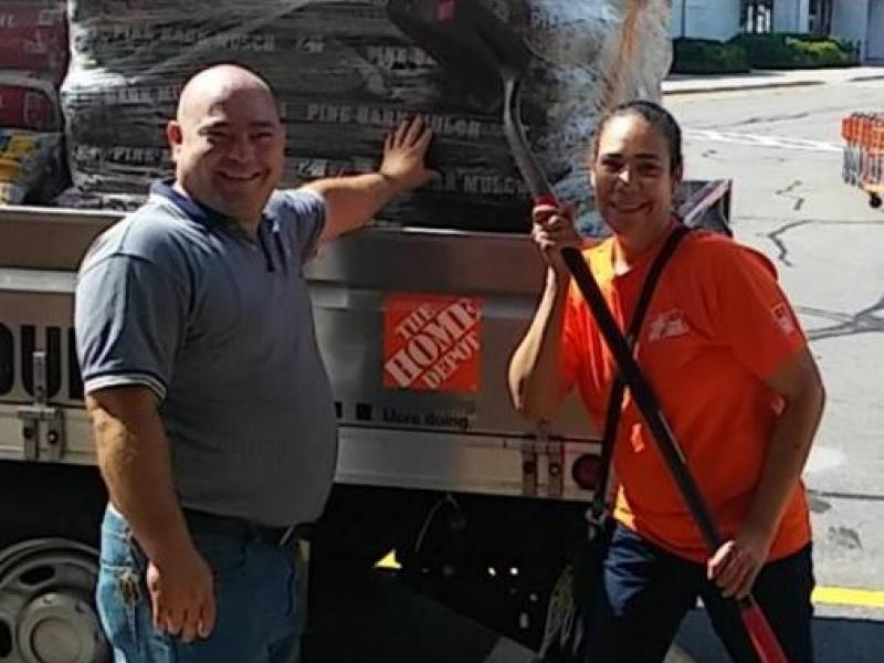 Home Depot of Parsippany Employees Volunteer at the Parsippany