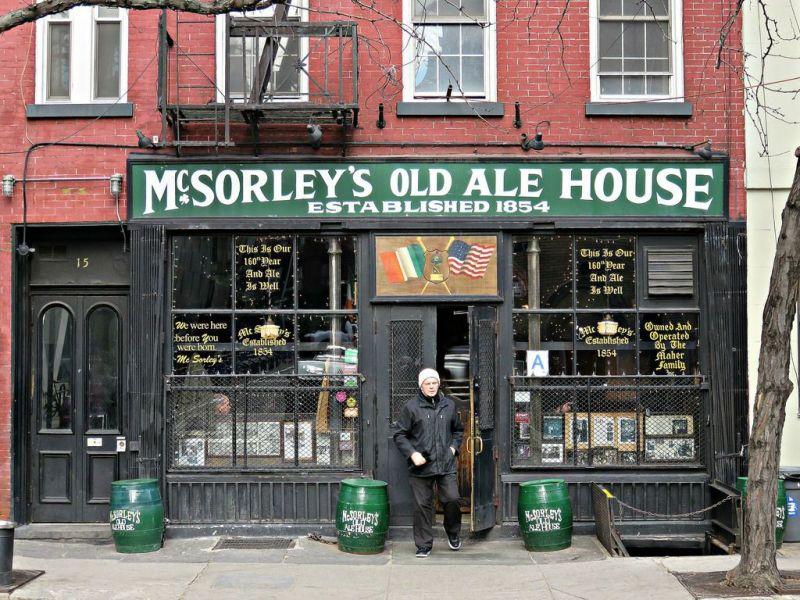 East Village Favorite Mcsorley S Old Ale House Back Open