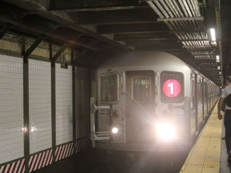 White Power Graffiti Found On NYC Subway Car At Columbus Circle Police Say