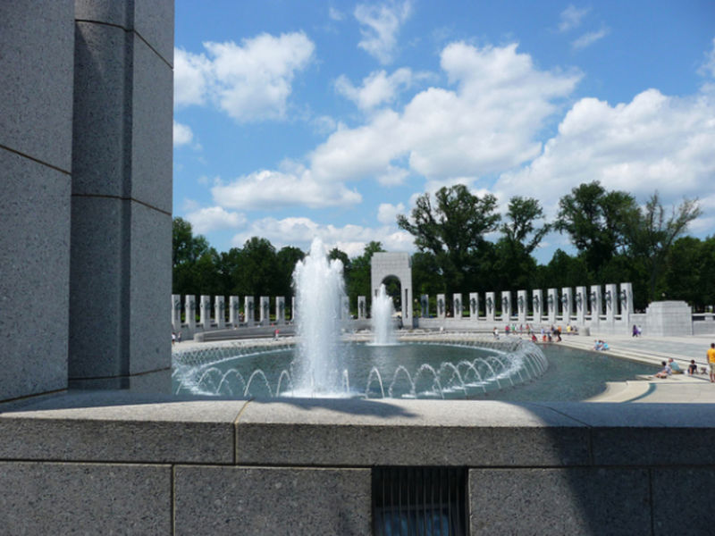World War Ii Memorial Pools To Be Drained This Weekend Arlington Va Patch