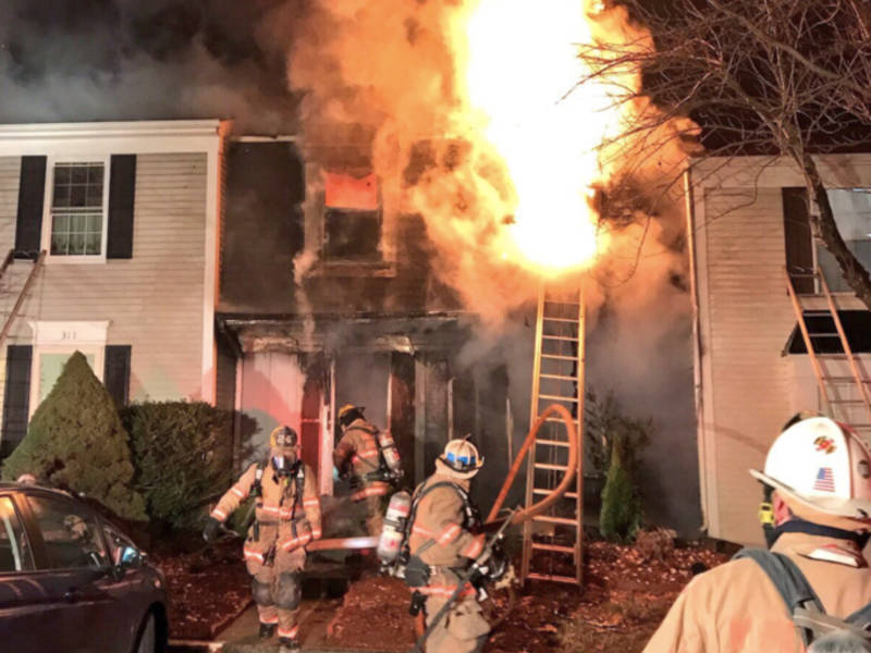 Several Families Displaced In Silver Spring Fire Photos