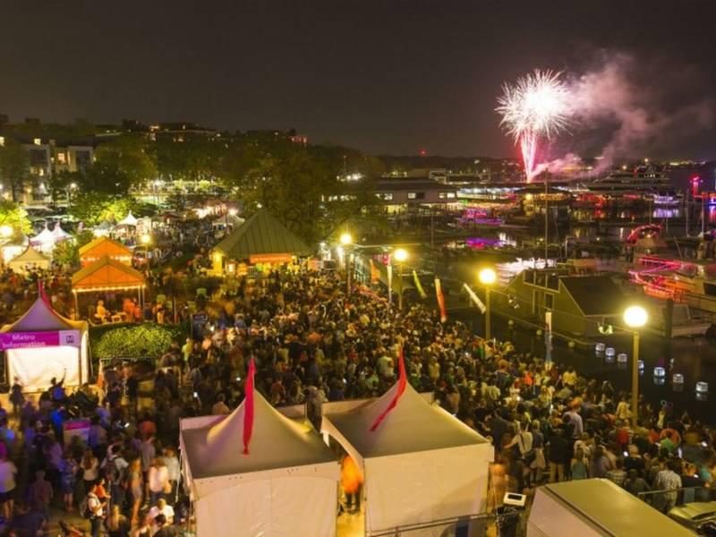 Cherry Blossom Festival: Petalpoolaza, Fireworks At The Wharf