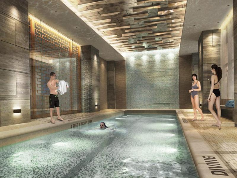 Extell unveils 52 story apartment building in hudson yards midtown manhattan ny patch for Manhattan public swimming pools