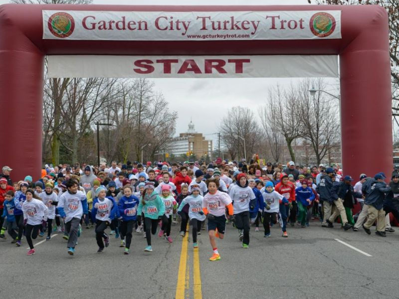 annual turkey trot expected to draw record crowd 0 - Garden City Turkey Trot