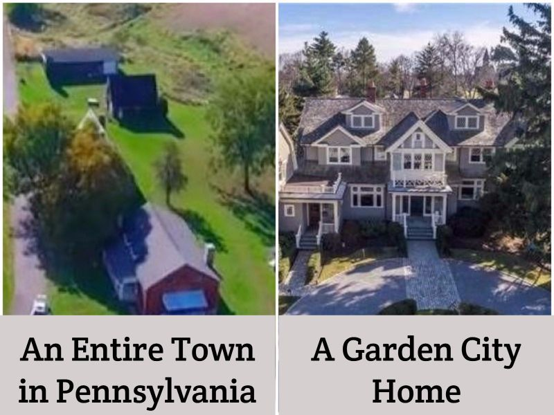 For The Price Of A Garden City Home, You Can Buy An Entire Town