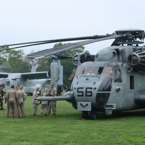 Marine, Navy Helicopters To Land At Eisenhower Park