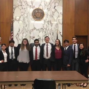 Clarke Mock Trial Team Places First In County Tournament