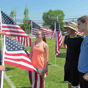 Levittown Students Plant Memorial Day Field Of Honor