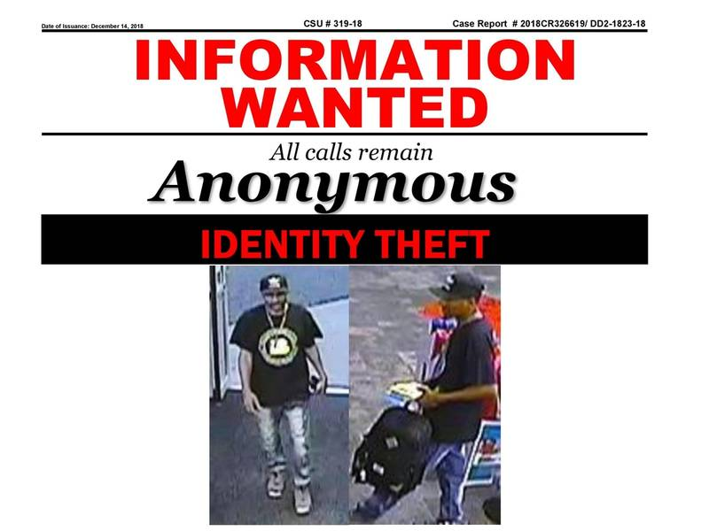 Nassau Police Seeking Public's Help To Catch Identity Thief