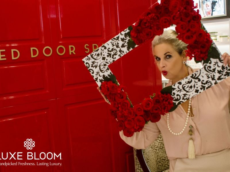 ... Luxe Bloom® Sets The Mood At The Red Door Salon U0026 Spa With Long Lasting  ...