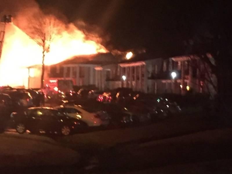 Massive Bellevue Apartment Fire Displaces 80