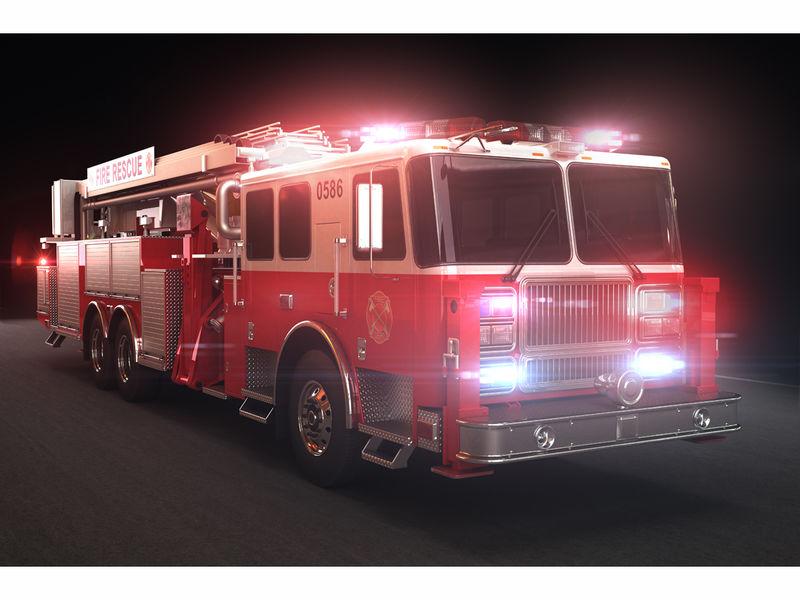 Lightning Strike Ignites Fire At Woodlands Apartment Complex