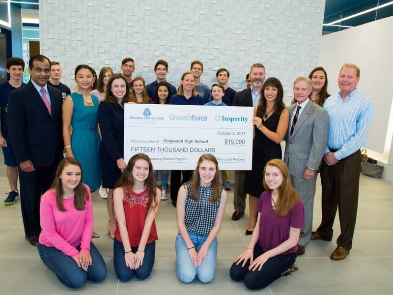 BMW The Woodlands >> Kingwood High School Presented With $15,000 Check | Humble, TX Patch