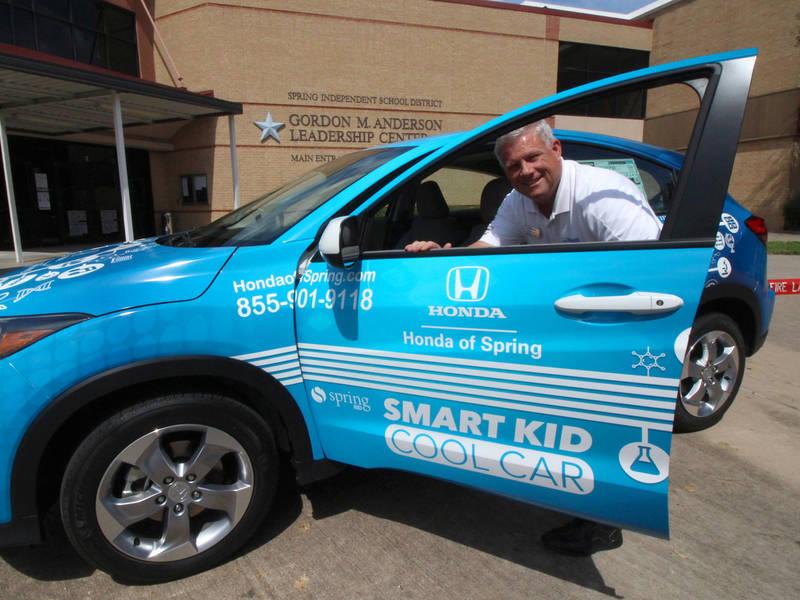 Smart Kid Cool Car Program To Award Car To Spring ISD Senior