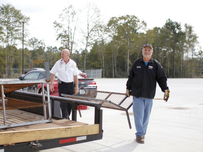 LSC Conroe Students Build Furniture For Fire Training School