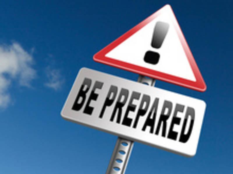 Giveaways for emergency preparedness