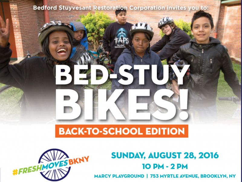 Free Back-to-School Bed-Stuy Bikes Event This Sunday
