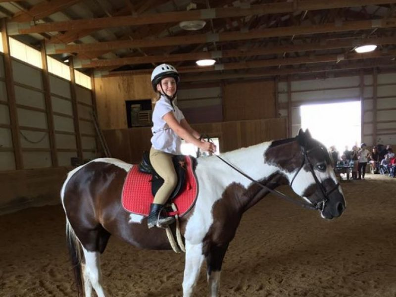 Spring Pony Rides At Normantown Equestrian Center